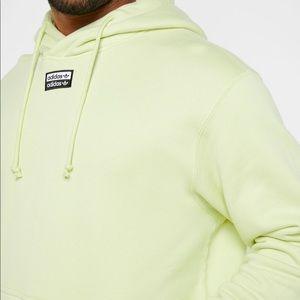 Adidas Ice Yellow Hoodie